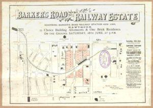 barkers road railway estate