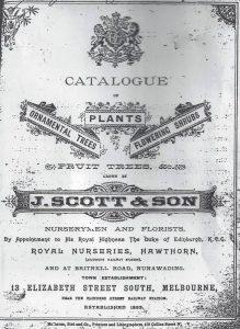 JAMES SCOTT'S ROYAL NURSERIES